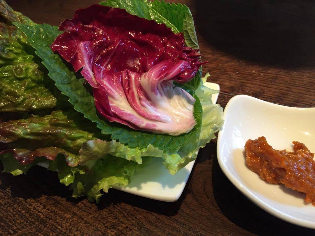 サムギョプサル用の野菜