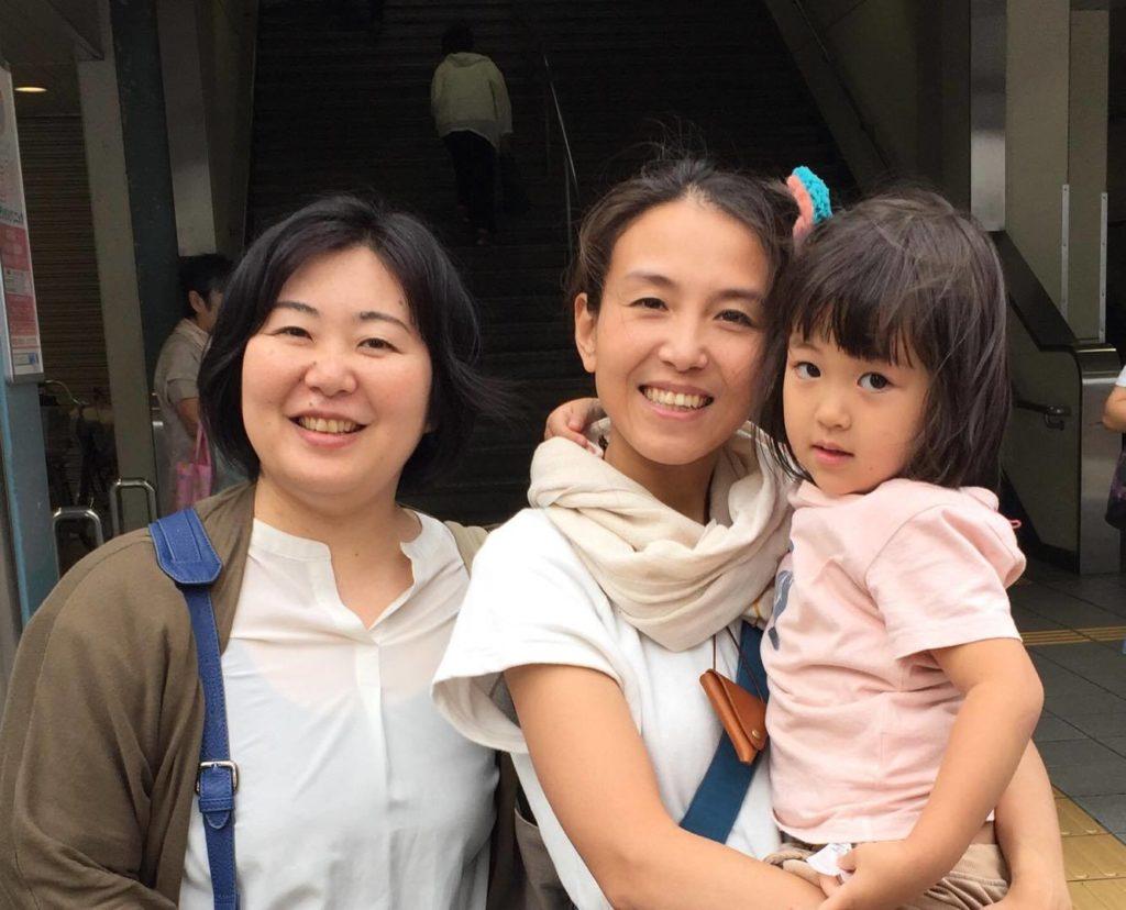 渡辺真里さんと記念撮影