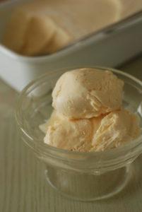 アイスクリームの完成!