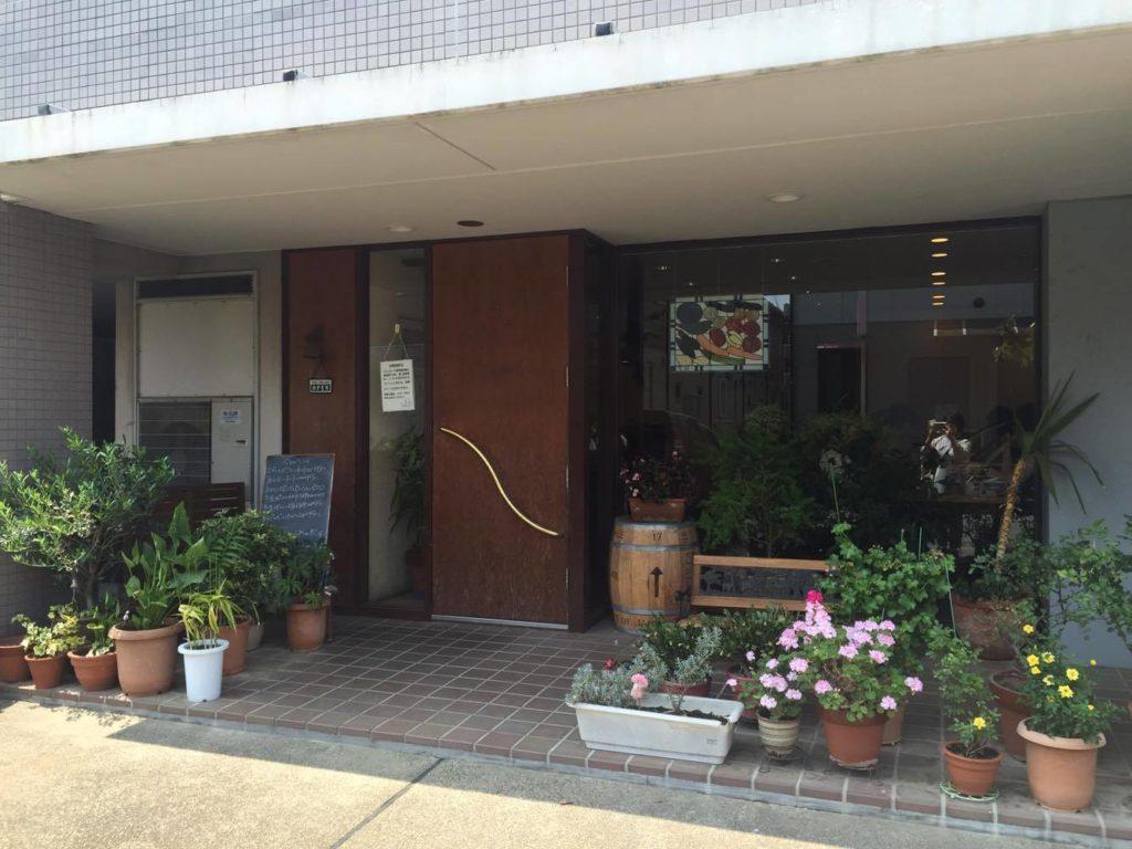 お店の入り口の写真
