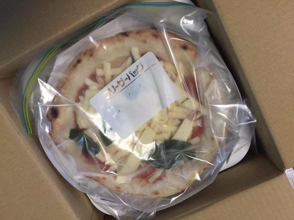 パッケージされたピザ