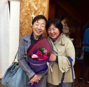 石川先生のお誕生日会の時の写真