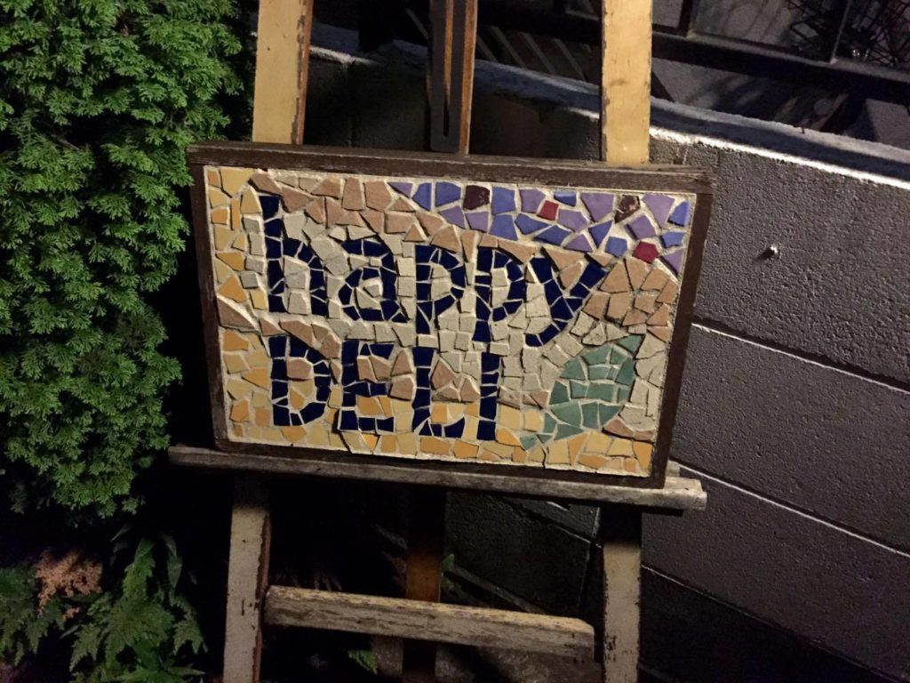 会場のhappy DELI