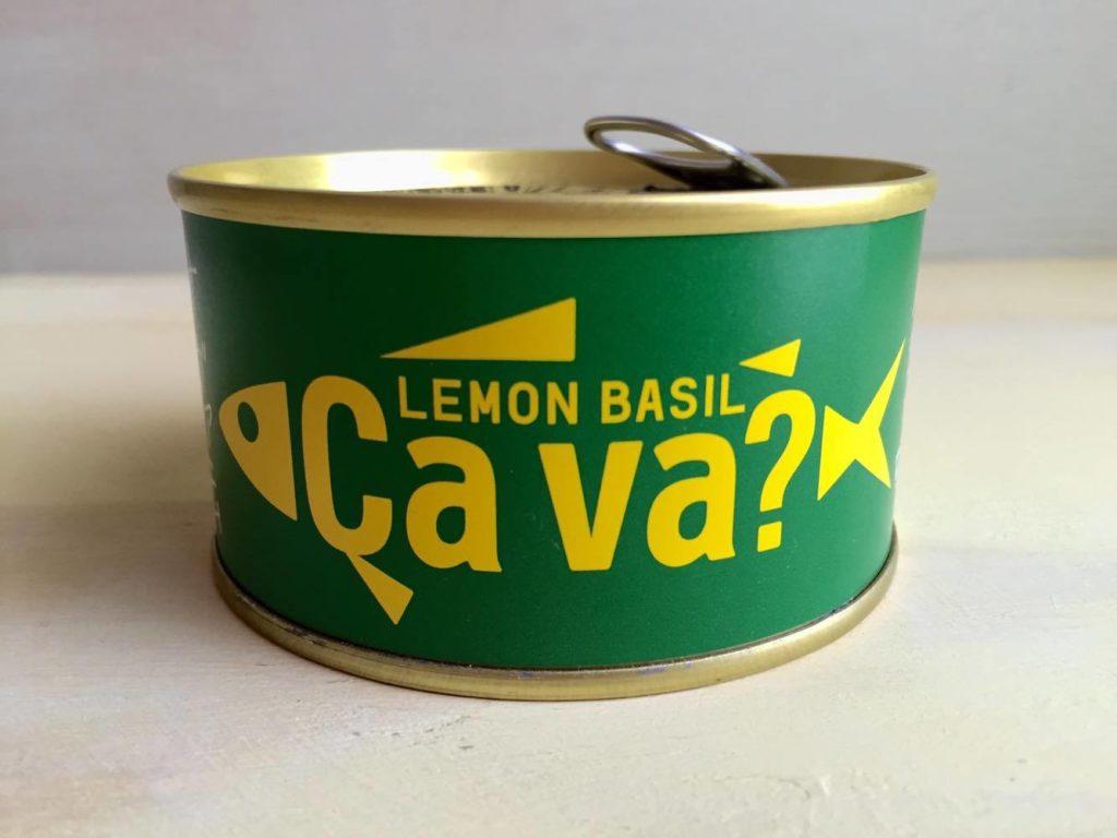 国産サバのレモンバジル味