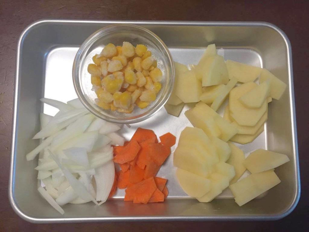 ポテトサラダの材料