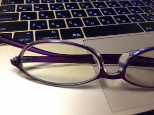 パソコンとPC用メガネ