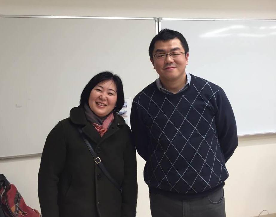 小豆川先生と写真