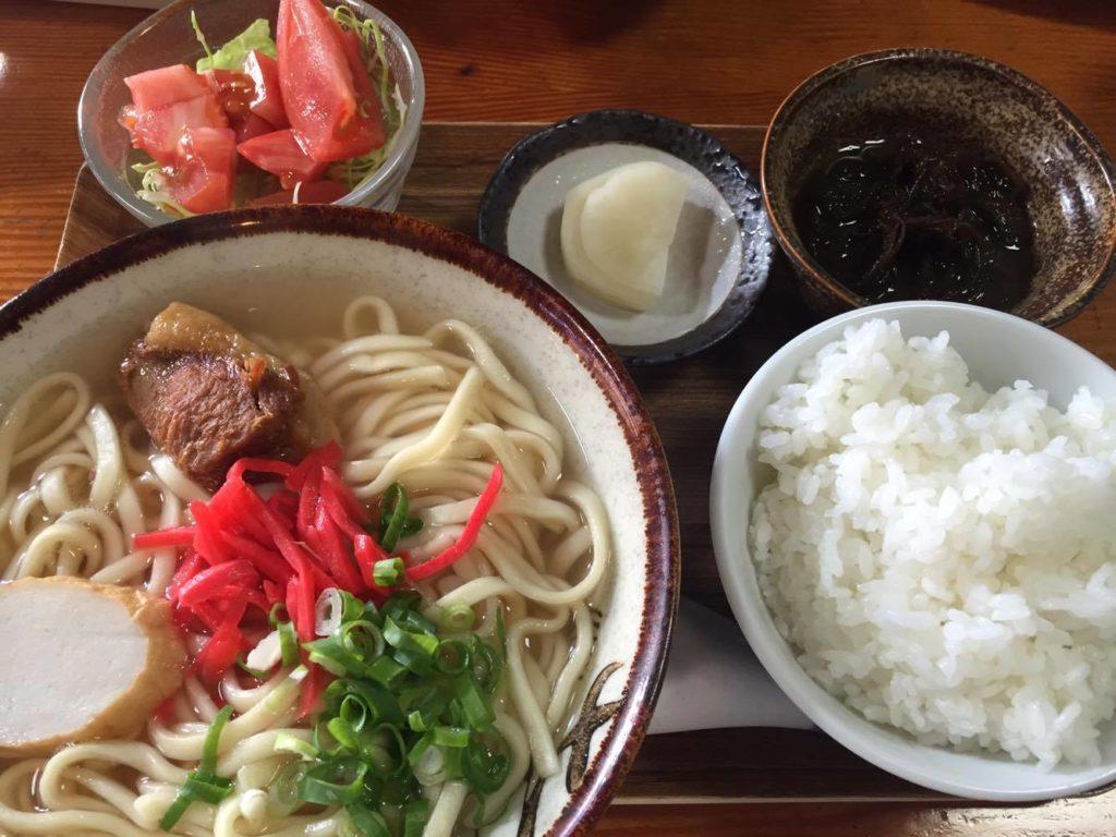 沖縄そばランチセット