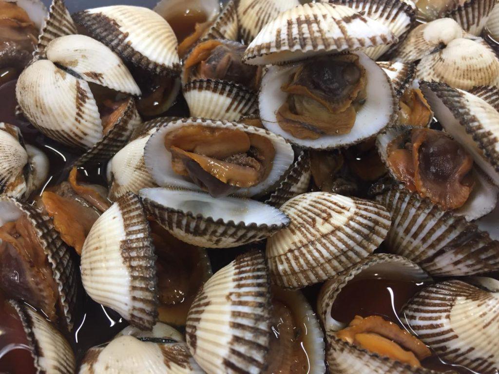 赤貝の煮物