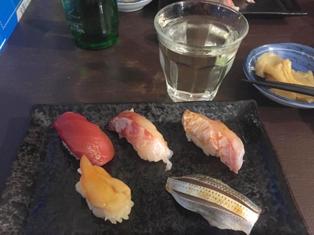本格的な江戸前寿司
