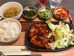 日替わり韓国定食