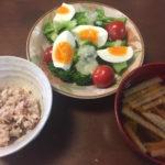 ダイエットの朝ごはん例