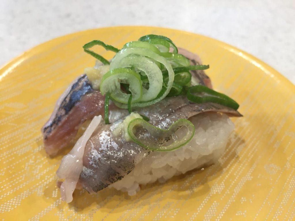 予想よりもおいしかったお寿司