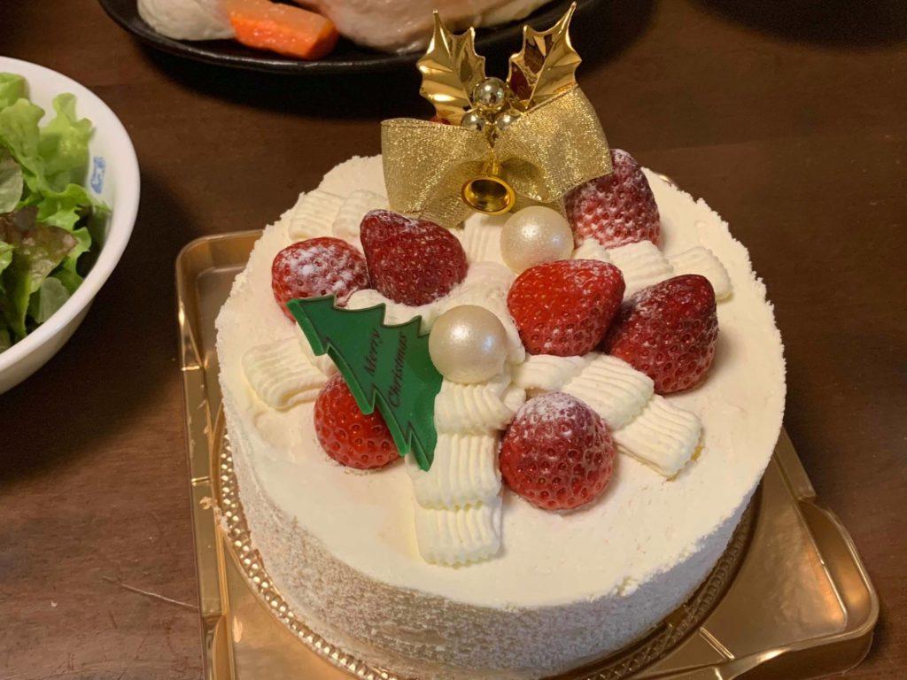 誕生日兼クリスマスケーキ