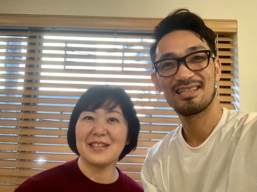 美容師の田谷さんと赤星