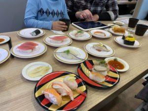 昨日食べにいったお寿司 おいしかった