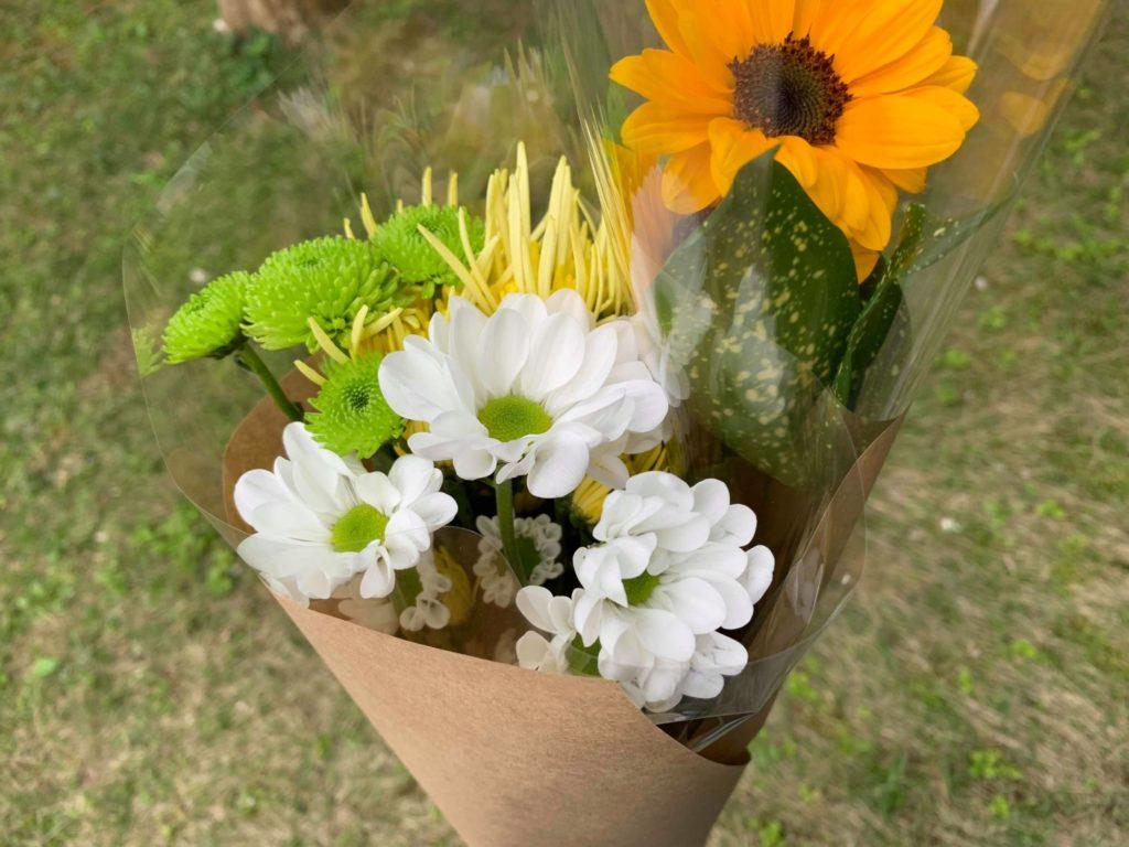 購入したお花