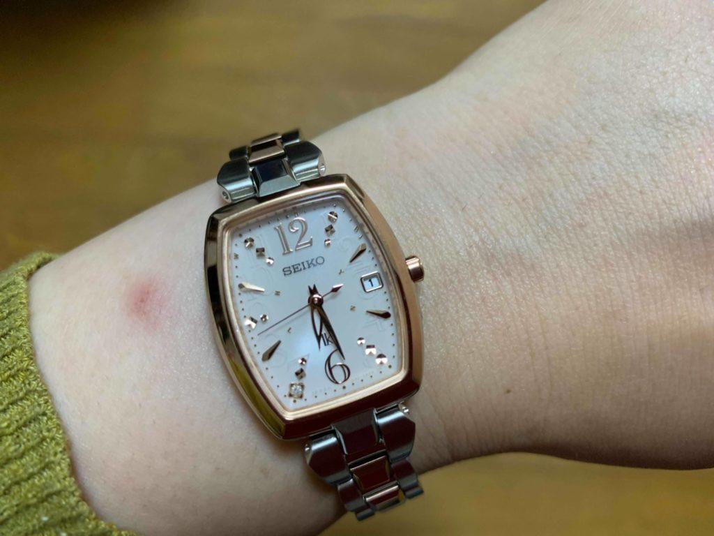 購入した時計